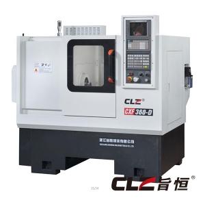 CXF360-D线轨斜床排刀机电主轴机床